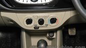 2015 Maruti Suzuki Alto K10 VXi HVAC controls at the 2015 Nepal Auto Show