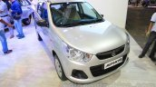 2015 Maruti Suzuki Alto K10 VXi front quarter at the 2015 Nepal Auto Show