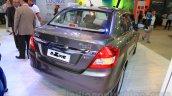 2015 Maruti Dzire at the rear quarter 2015 Nepal Auto Show