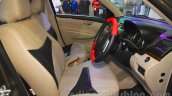 2015 Maruti Dzire front cabin at the 2015 Nepal Auto Show