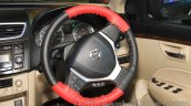 2015 Maruti Dzire steering wheel at the 2015 Nepal Auto Show