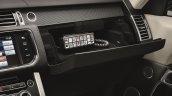 2015 Range Rover Sentinel glove box unveiled