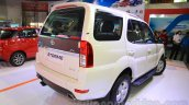 2015 Tata Safari Storme facelift rear three quarter (1) at the 2015 Nepal Auto Show