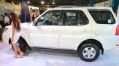 2015 Tata Safari Storme facelift side at the 2015 Nepal Auto Show