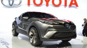 2015 Toyota C-HR Concept front three quarter view at IAA 2015