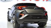 2015 Toyota C-HR Concept rear fascia view at IAA 2015