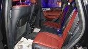 2015 VW Touareg rear seats at the 2015 NADA Auto Show