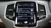 2015 Volvo XC90 D5 Inscription central infotainment display full review