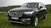 2015 Volvo XC90 D5 Inscription front quarter close full review