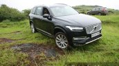 2015 Volvo XC90 D5 Inscription front quarter off road with predecessor full review