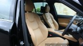 2015 Volvo XC90 D5 Inscription front seats full review