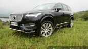 2015 Volvo XC90 D5 Inscription front three quarter low full review