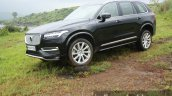 2015 Volvo XC90 D5 Inscription front three quarter off road full review
