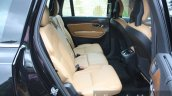 2015 Volvo XC90 D5 Inscription rear seats full review