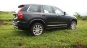 2015 Volvo XC90 D5 Inscription side quarter rear full review