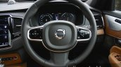 2015 Volvo XC90 D5 Inscription steering wheel full review