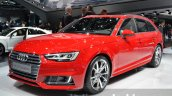 2016 Audi A4 Avant S-line front three quarter at the IAA 2015