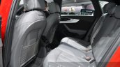 2016 Audi A4 Avant S-line rear cabin at the IAA 2015