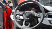 2016 Audi A4 Avant S-line steering at the IAA 2015