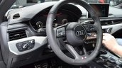 2016 Audi A4 Avant S-line steering wheel at the IAA 2015