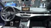 2016 Audi A4 g-tron dashboard at the IAA 2015