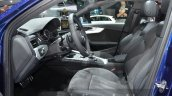2016 Audi A4 g-tron front cabin at the IAA 2015