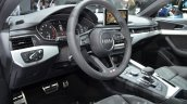 2016 Audi A4 g-tron interior at the IAA 2015