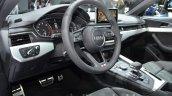 2016 Audi A4 g-tron interior at the IAA 2015