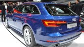 2016 Audi A4 g-tron rear three quarter at the IAA 2015