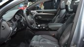 2016 Audi S8 Plus front seats at IAA 2015