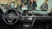 2016 BMW 3 series facelift dashboard at the IAA 2015