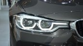 2016 BMW 3 series facelift headlamp at the IAA 2015