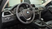 2016 BMW 3 series facelift interior at the IAA 2015
