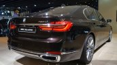 2016 BMW 7 Series Individual exhaust tips at the IAA 2015