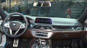 2016 BMW 7 Series M-Sport dashboard at the IAA 2015