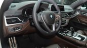 2016 BMW 7 Series M-Sport driver's area at the IAA 2015