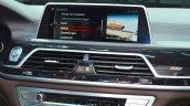 2016 BMW 7 Series M-Sport iDrive display at the IAA 2015