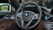 2016 BMW 7 Series M-Sport steering wheel at the IAA 2015
