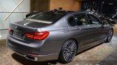 2016 BMW 7 Series rear three quarter at the IAA 2015