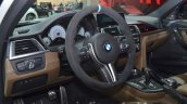 2016 BMW M3 facelift steering wheel at IAA 2015
