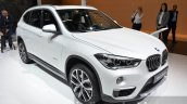 2016 BMW X1 front three quarter left view at the IAA 2015