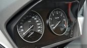 2016 BMW X1 instrument cluster at the IAA 2015