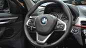 2016 BMW X1 steering wheel at the IAA 2015