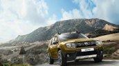 2016 Dacia Duster front quarter press shots