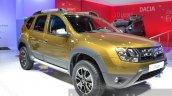 2016 Dacia Duster front three quarter right at IAA 2015