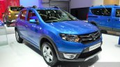 2016 Dacia Sandero Stepway with Easy-R AMT front three quarter at the IAA 2015