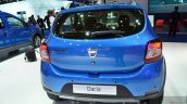 2016 Dacia Sandero Stepway with Easy-R AMT rear quarter at the IAA 2015