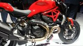 2016 Ducati Monster 1200R engine and tank at the VW Group Night