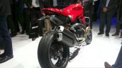 2016 Ducati Monster 1200R rear three quarter right at the VW Group Night