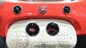 2016 Fiat 500 ac controls at IAA 2015